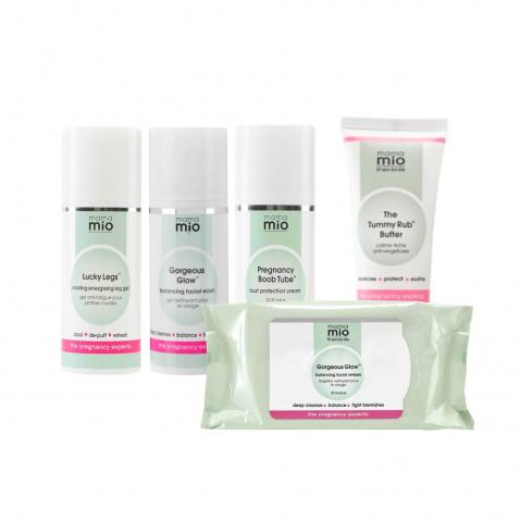 Pregnancy Essentials Kit + chusteczki Gorgeous Glow