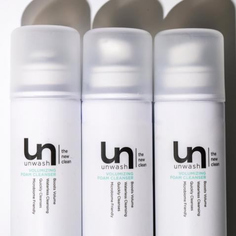 Unwash Voumizing Dry Cleanser Foam